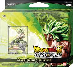 Dragon Ball Super CG Magnificent Collection Broly Forsaked Warrior