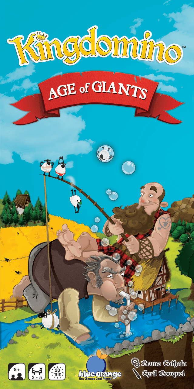Kingdomino Age of Giants Expansion