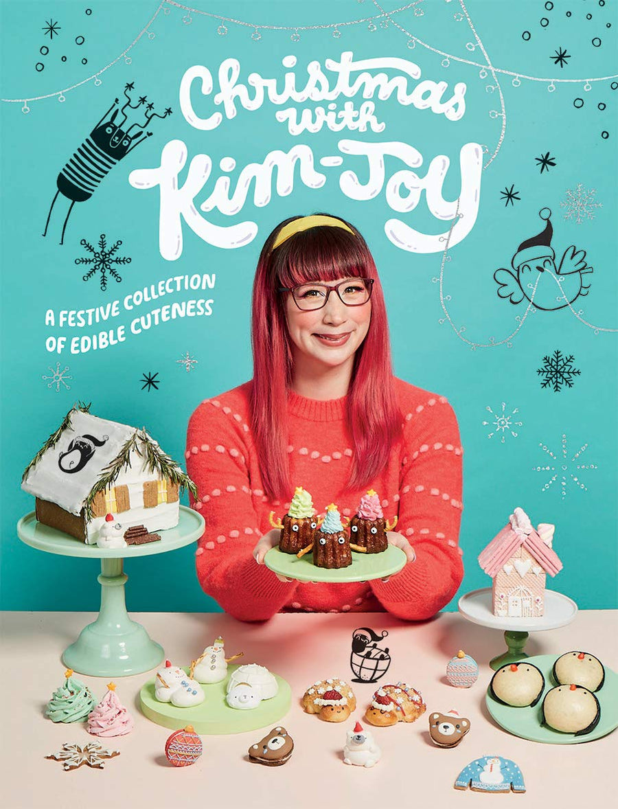 Christmas with Kim-Joy A Festive Collection Of Edible Cuteness *Signed By Author*