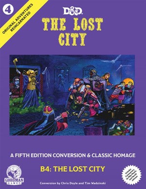 Dungeons & Dragons Original Adventures Reincarnated The Lost City