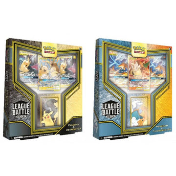 Pokemon League Battle Deck Pikachu & Zekrom-GX + Reshiram & Charizard-GX