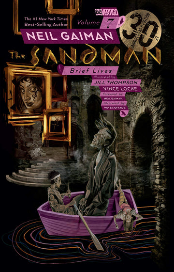 The Sandman Volume 7 Brief Lives 30th Anniversary Edition