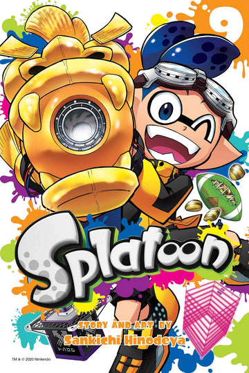 Splatoon Volume 9
