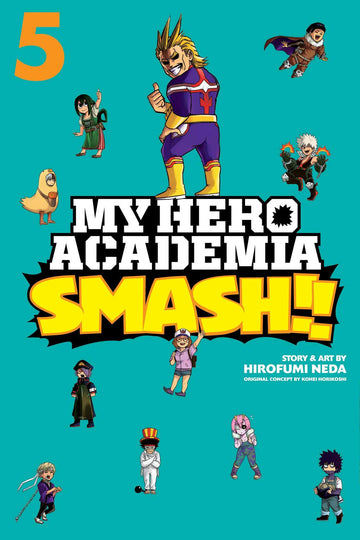 My Hero Academia Smash!! Volume 5