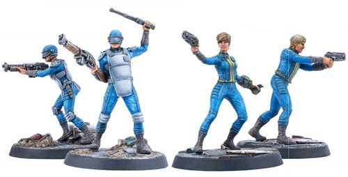 Fallout Wasteland Warfare Survivors Vault Personnel