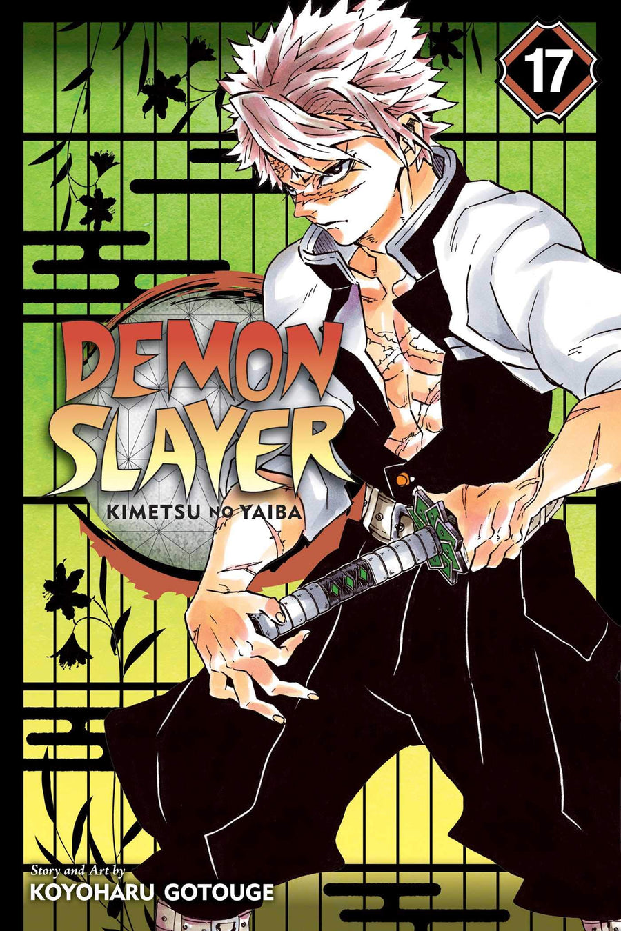 Demon Slayer Kimetsu No Yaiba Volume 17