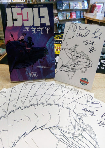 Isola Volume 2 with *EXCLUSIVE SIGNED BOOKPLATE*