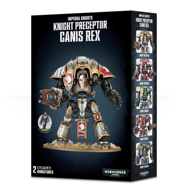 Imperial Knights Knight Perceptor Canis Rex