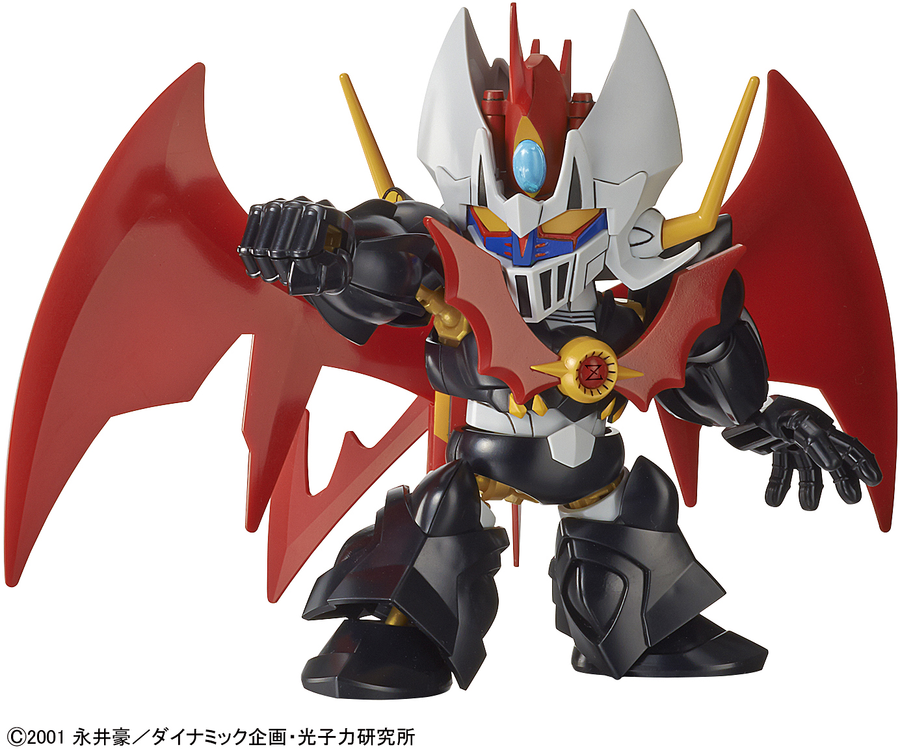 SD Cross Silhouette Mazinkaiser Model Kit