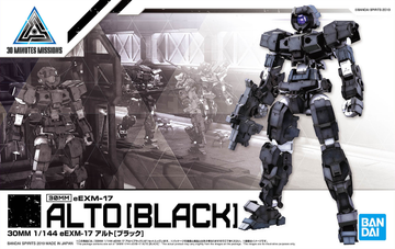 30MM EEXM-17 Alto Black 1/144 Model Kit