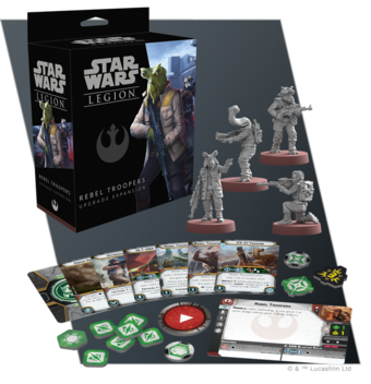 Star Wars Legion Rebel Trooper Upgrade Expansion