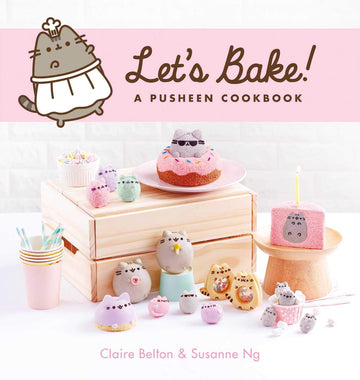 Let's Bake A Pusheen Cookbook