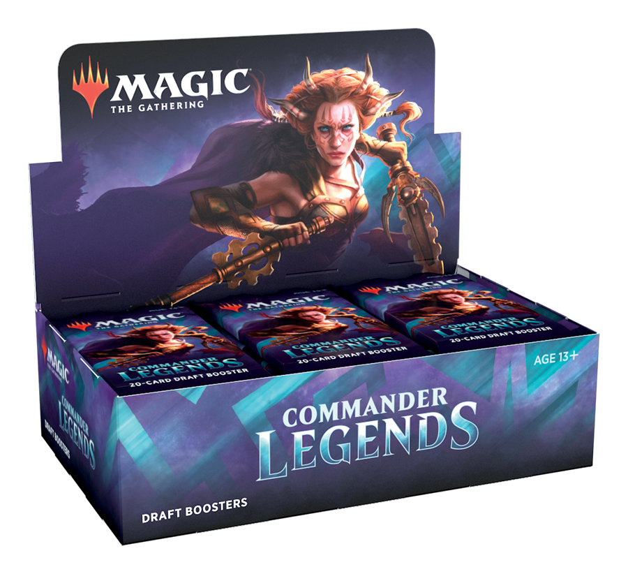 Magic: The Gathering Commander Legends Draft Booster Box [Pre-Order]