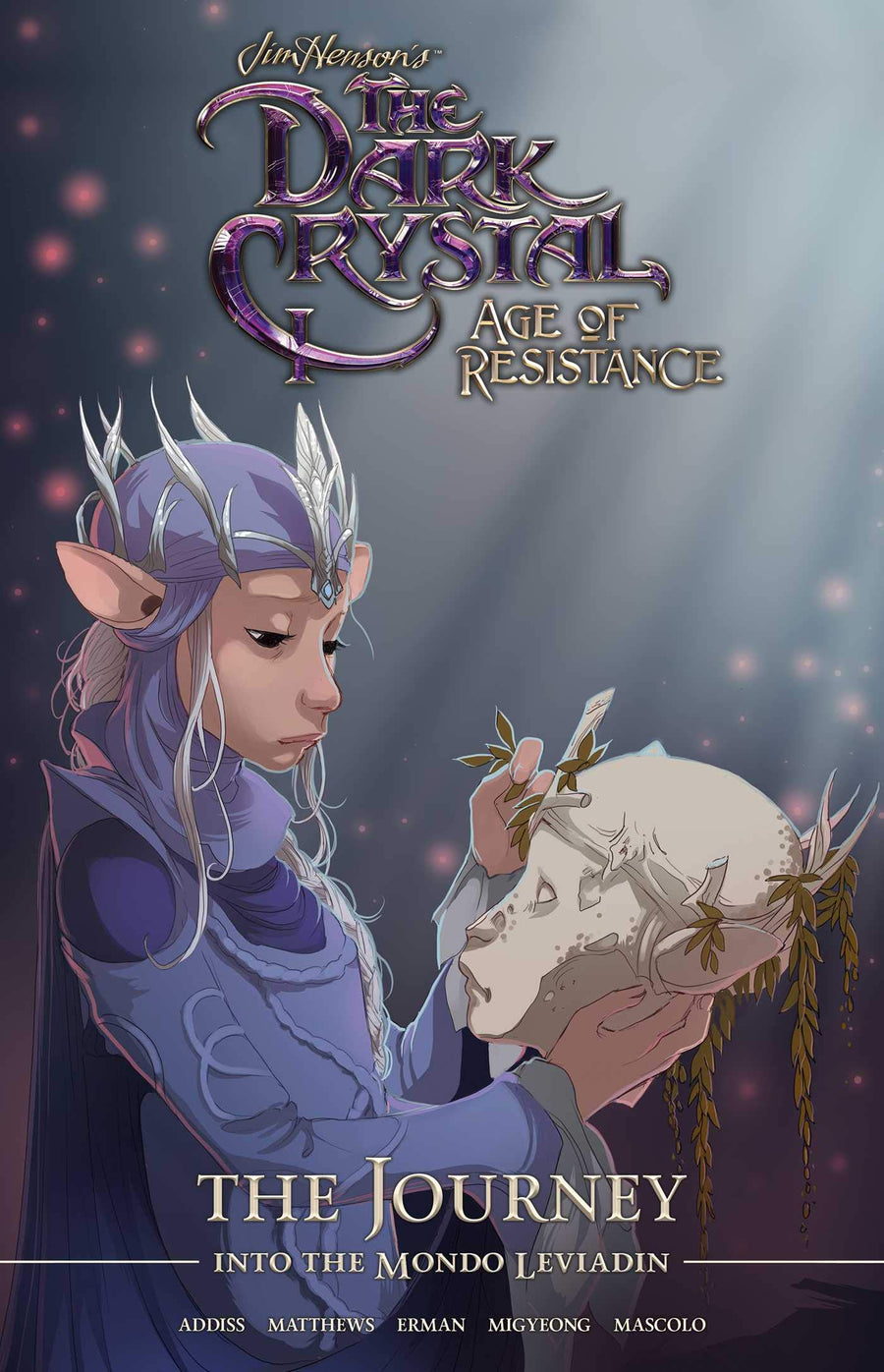 Jim Henson's The Dark Crystal Age Of Resistance: The Journey Into The Mondo Leviadian Hardcover