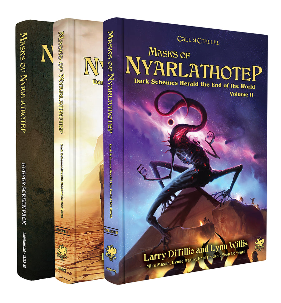 Call of Cthulhu: Masks of Nyarlathotep Slip Case Edition