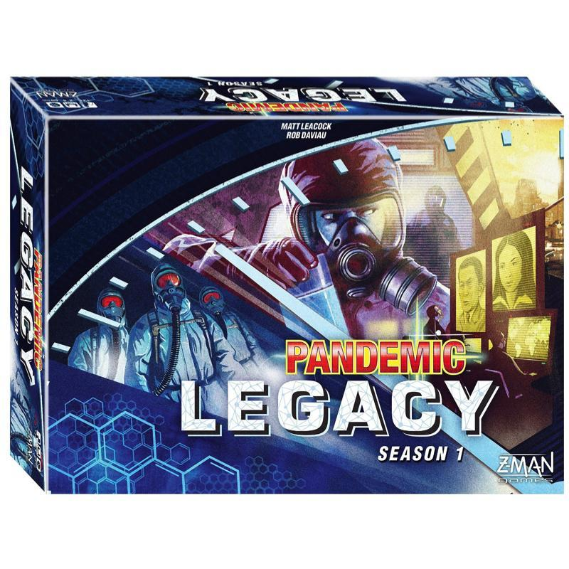Pandemic Legacy Season 1 - Blue