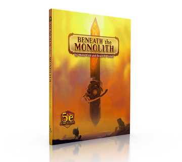 Numenera RPG Beneath the Monolith 5E