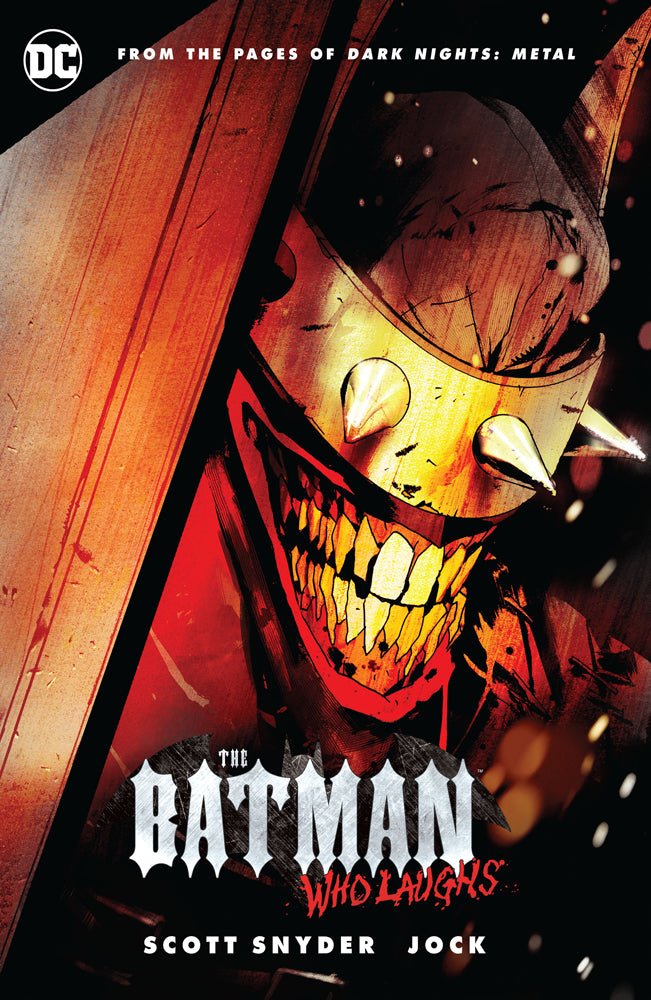 Batman: The Batman Who Laughs Hardcover Edition