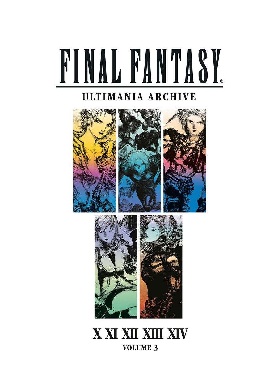 Final Fantasy Ultimania Archive Hardcover Volume 3