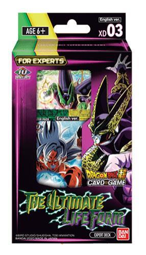 DRAGON BALL SUPER CARD GAME: DECK XD03 THE ULTIMATE LIFE FORM