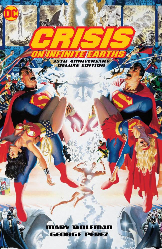 Crisis on Infinite Earths 35th Anniversay Edition Hardcover