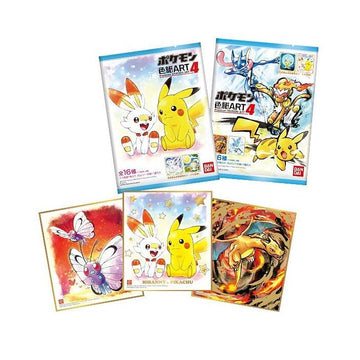 Pokemon Shikishi Art Vol.4 Pack