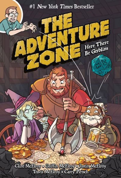 ADVENTURE ZONE VOLUME 1 HERE THERE BE GERBLINS