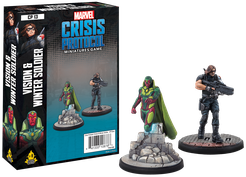 Marvel: Crisis Protocol- Vision and Winter Soldier