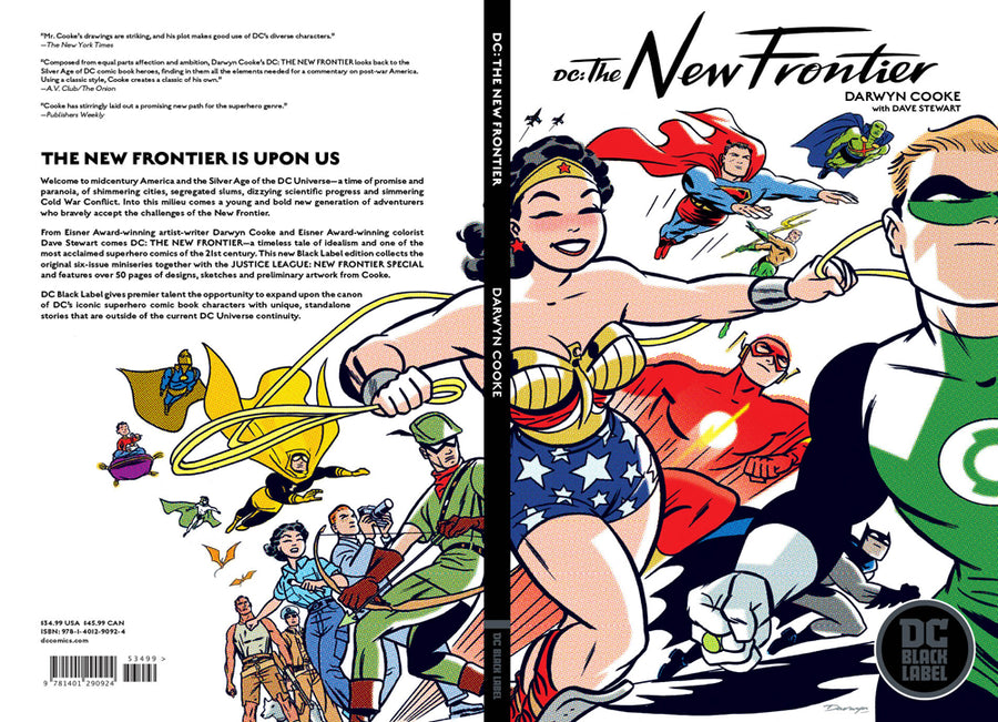 DC The New Frontier Black Label Edition