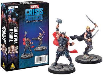 Marvel: Crisis Protocol- Thor and Valkyrie