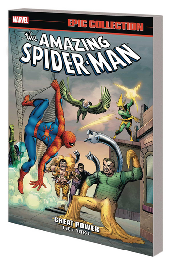 Amazing Spider-Man Great Power Epic Collection