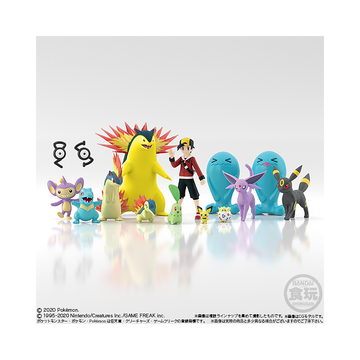 Pokemon Scale World Johto Vol 1 Box Display (12 pieces)