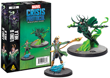 Marvel: Crisis Protocol- Loki and Hela