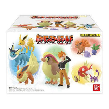 Pokemon Scale World Kanto Box Volume 2 Display