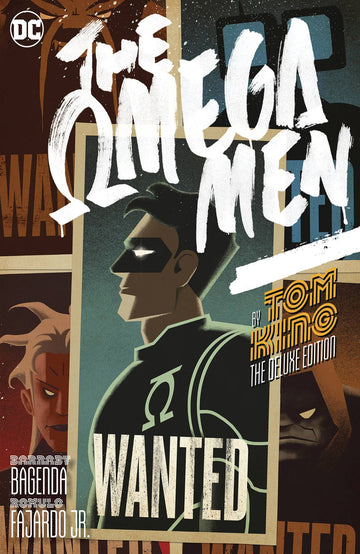 The Omega Men by Tom King Deluxe Hardcover