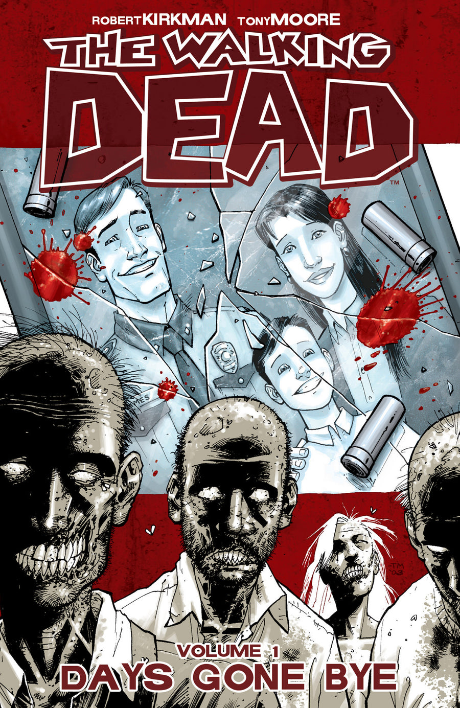 THE WALKING DEAD VOL 1 DAYS GONE BY
