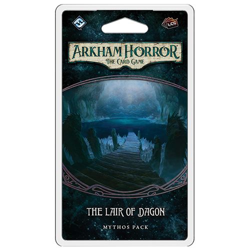 Arkham Horror The Card Game The Lair of Dagon Mythos Pack