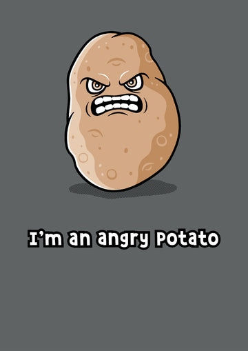 Angry Potato Ladies T-Shirt