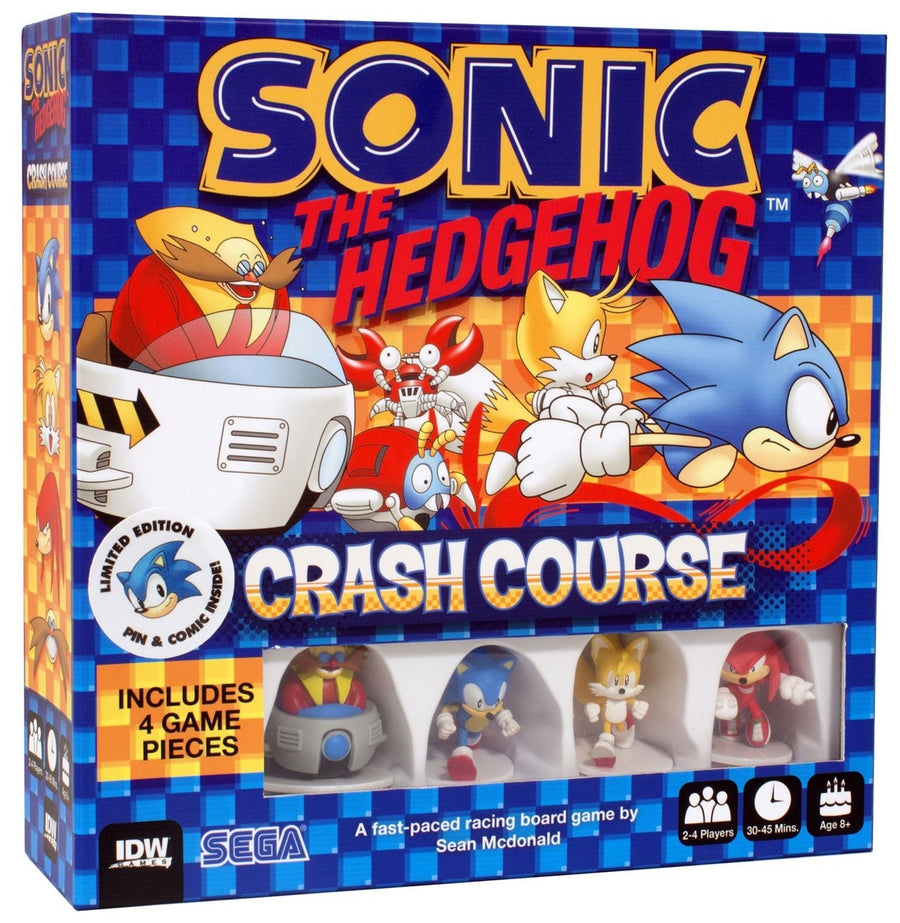 Sonic The Hedgehog Crash Course - Limited Edition