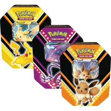 Pokemon TCG V Powers Tin