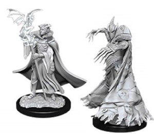 Pathfinder Deep Cuts Unpainted Minis: Cultist And Devil