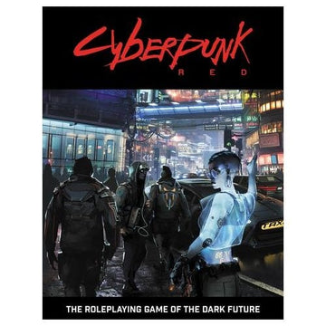 Cyberpunk Red RPG Core Rulebook