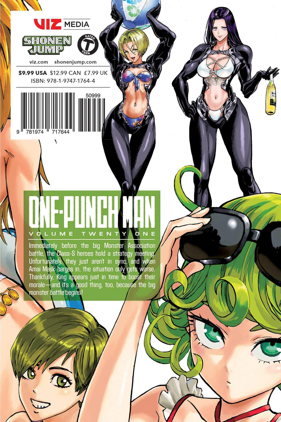 One Punch Man Volume 21