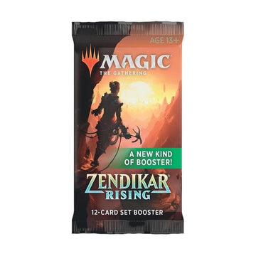 Magic The Gathering Zendikar Rising Set Booster Pack