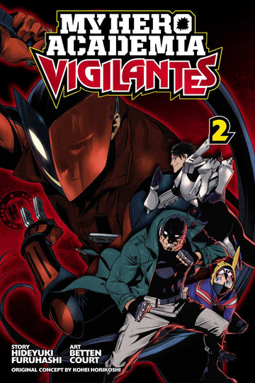 My Hero Academia Vigilantes Volume 2