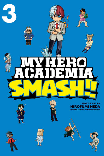 My Hero Academia Smash!! Volume 3