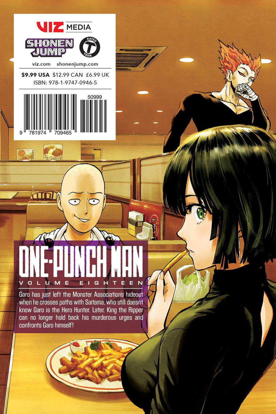 One Punch Man Volume 18