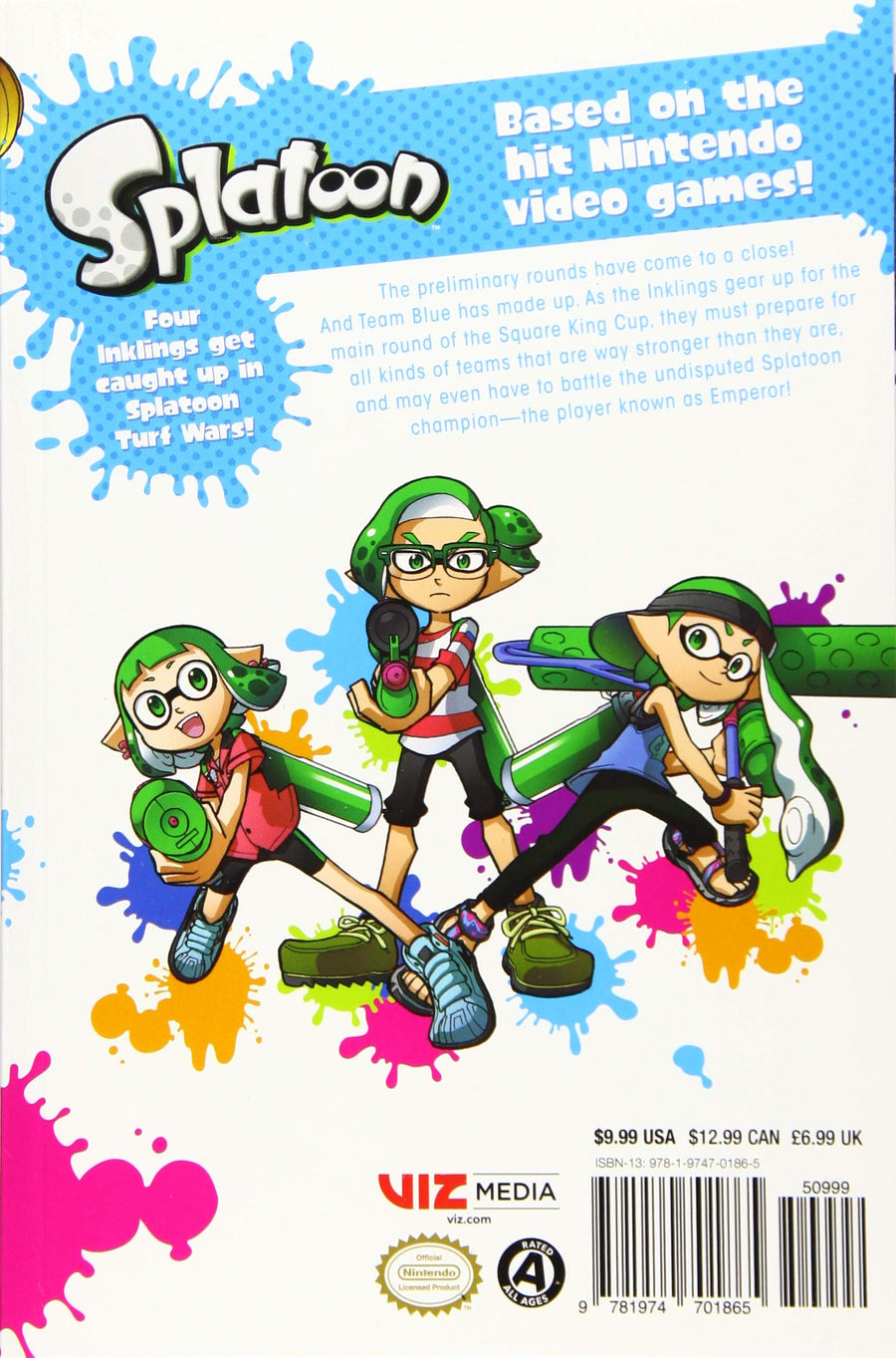 Splatoon Volume 4