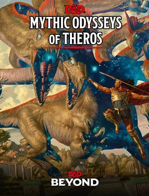 Dungeons & Dragons Mythic Odysseys Of Theros