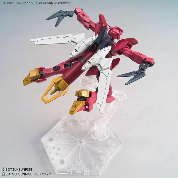 HGBD Mercuone Weapons 1/144 Gundam Model Kit